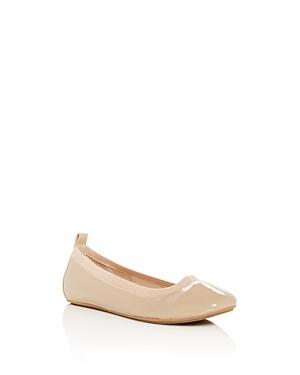 Yosi Samra Girls' Miss Samara Patent Leather Ballet Flats - Toddler, Little Kid, Big Kid