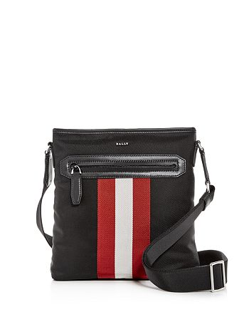 Bally - Currios Signature Stripe Messenger Bag