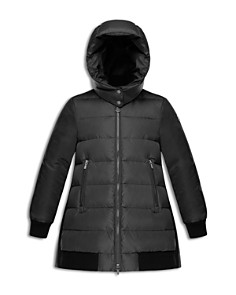 Moncler - Girls' Blois Contrast Quilted Down Coat - Big Kid