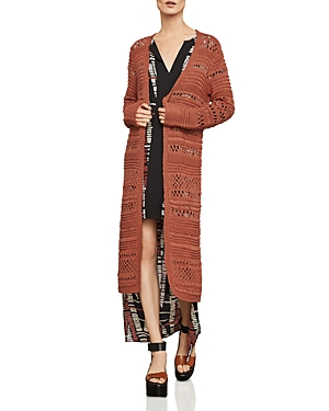 Bcbgmaxazria Open-Stitch Duster Cardigan