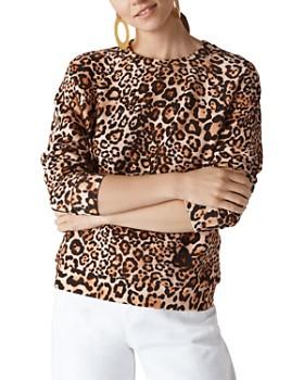 Whistles - Leopard Print Sweatshirt