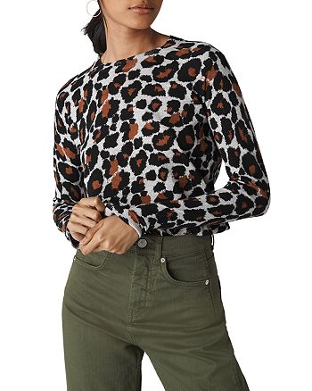 Whistles - Leopard Print Sweater
