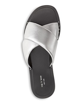 rag & bone - Women's Keaton Slide Leather Sandals