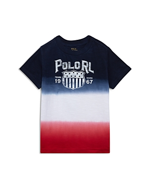 Polo Ralph Lauren Boys' Jersey Ombre Tee - Little Kid