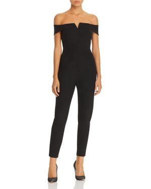 Adelyn Rae Alana Off-the-Shoulder Jumpsuit