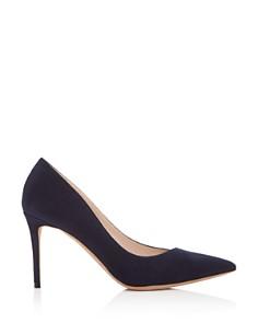 Giorgio Armani - Women's Decollete Suede Pointed Toe Pumps