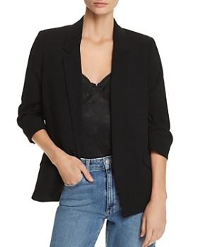 Bardot - Ruched-Sleeve Blazer