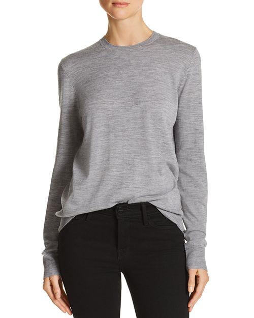 AQUA - Sequin-Patch Merino Wool Sweater - 100% Exclusive