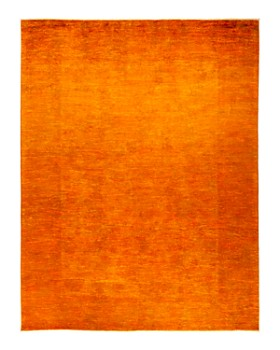 "Solo Rugs - Vibrance 26 Hand Knotted Area Rug , 7' 10"" x 10' 4"""