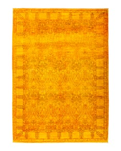 "Solo Rugs - Vibrance 28 Hand Knotted Area Rug, 6' 5"" x 9' 0"""