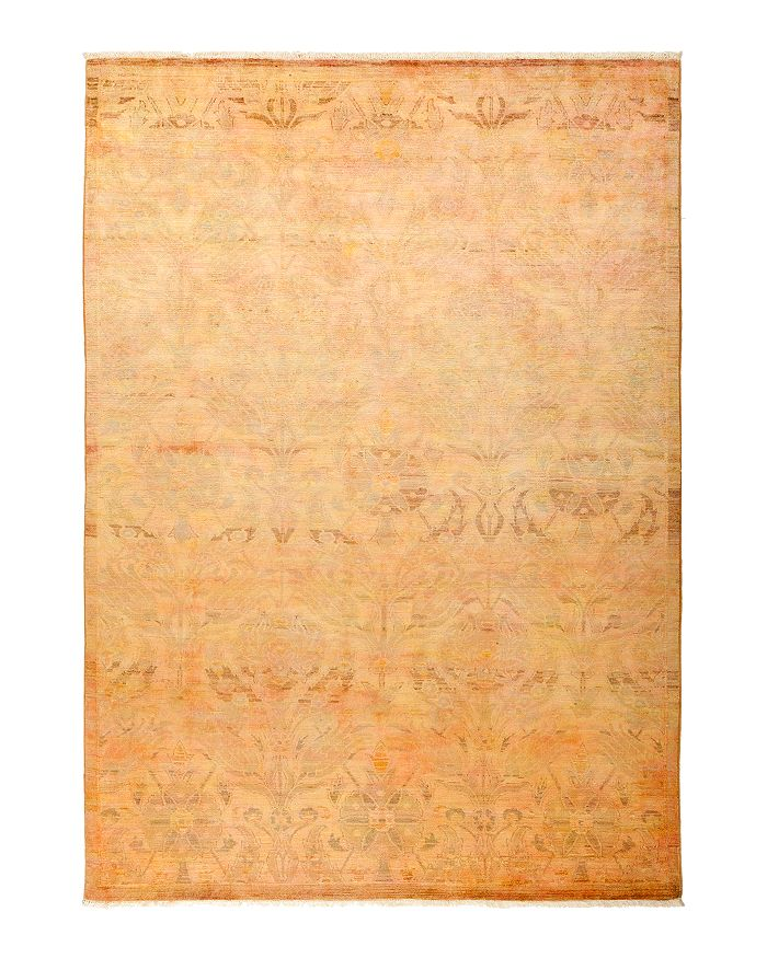 """Solo Rugs - Vibrance 34 Hand Knotted Area Rug, 5' 10"""" x 8' 5"""" Product Description Brand Name   Product Type  One Of A Kind Rugs Product Noun Project  TurnInJun_Wk3_Live_Jun_Wk5_2018_JPEGs (3998) Billing"""