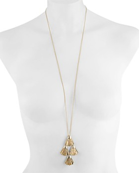 Alexis Bittar - Swarovski Crystal-Accent Articulating Pendant Necklace, 32""