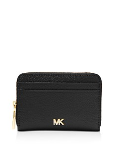 MICHAEL Michael Kors - Money Pieces Zip Around Leather Coin & Card Case