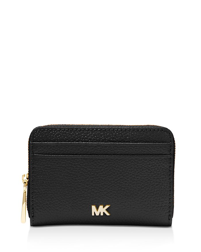 8928f83258c MICHAEL Michael Kors - Money Pieces Zip Around Leather Coin & Card Case
