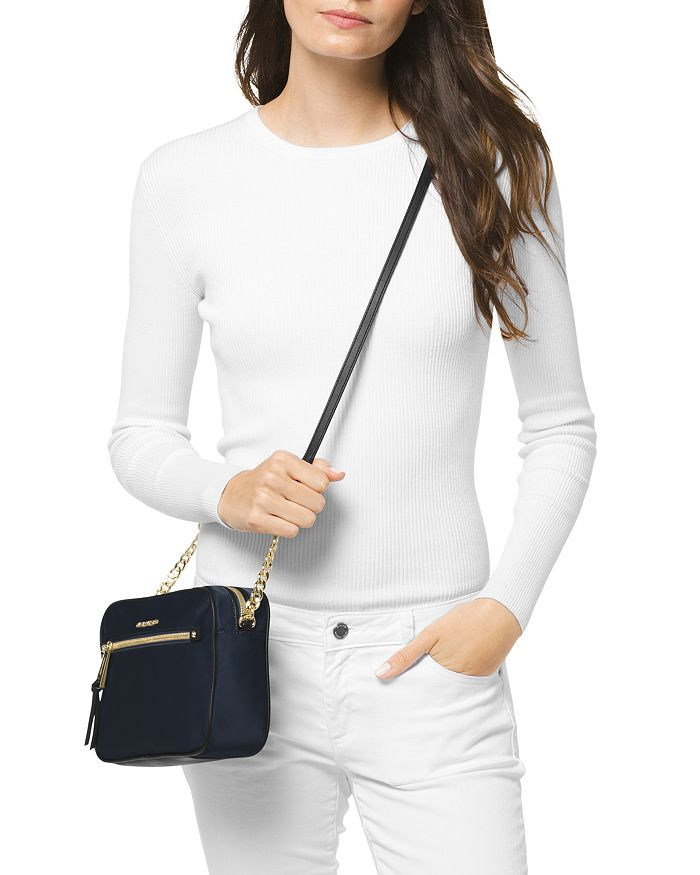 13d2878b723c MICHAEL Michael Kors Polly Large Nylon Crossbody | Bloomingdale's