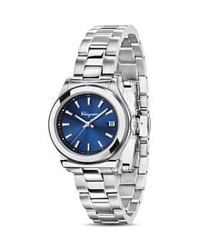 Salvatore Ferragamo - Ferragamo 1898 Blue Bracelet Watch, 28mm
