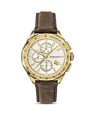 Versace Collection Glaze Watch, 44mm