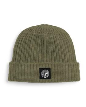 Stone Island - Ribbed Wool Beanie Hat