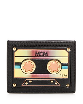 MCM - Cassette Leather Mini Card Case