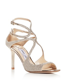 Jimmy Choo - Women's Ivette 85 Glitter High-Heel Sandals