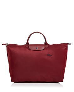 Longchamp - Le Pliage Club Large Nylon Canvas Travel Bag