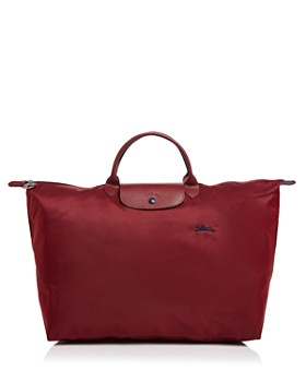 Longchamp Le Pliage Club Large Nylon Canvas Travel Bag
