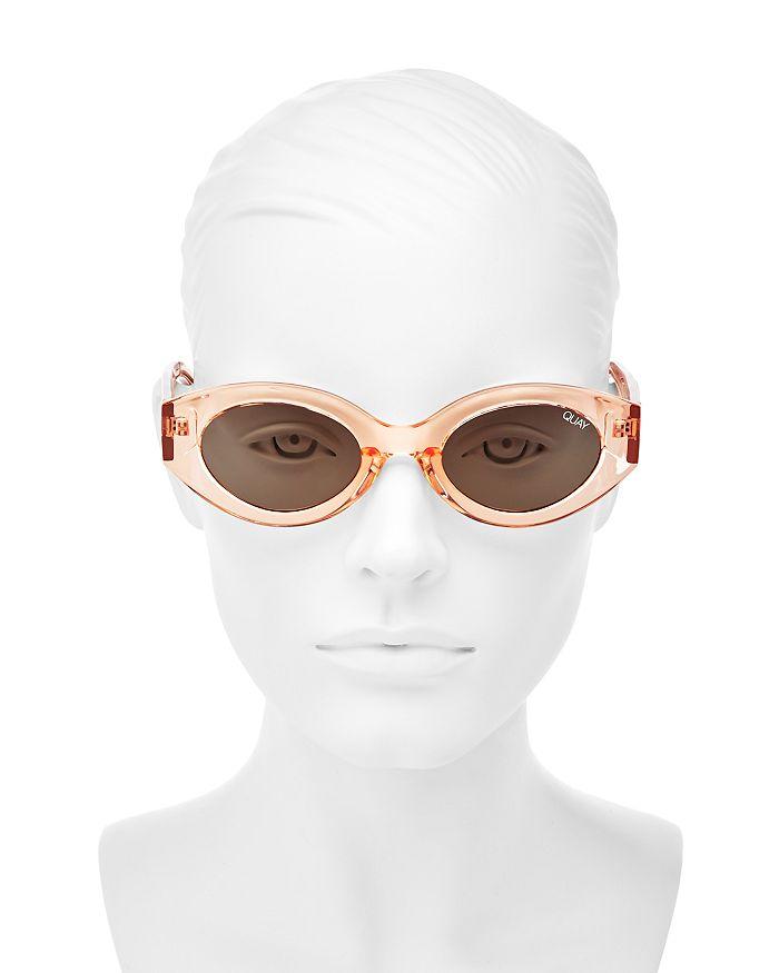 5408c7ee32 Quay - Women s See Me Smile Round Sunglasses