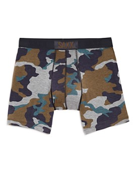 SAXX - Vibe Camouflage-Print Boxer Briefs