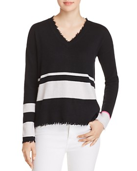 Lisa Todd - The Rebel Distressed Cashmere Sweater
