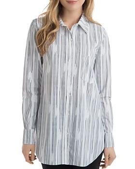 Lyssé - Schiffer Line-Print Tunic Top