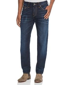 True Religion - Rocco Slim Fit Jeans in Dark Tunnel