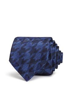 Emporio Armani Chevron Classic Silk Tie - Bloomingdale's_0