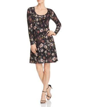Robert Michaels Floral Print Dress