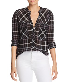 Rails - Redding Frayed Plaid Shirt