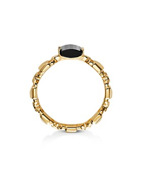 Michael Kors - Mercer Link Semi-Precious Sterling Silver Ring in 14K Gold-Plated Sterling Silver or Solid Sterling Silver