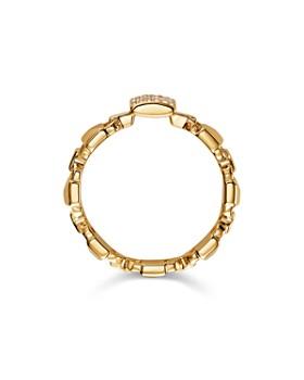 Michael Kors - Mercer Link Sterling Silver Ring in 14K Gold-Plated Sterling Silver, 14K Rose Gold-Plated Sterling Silver or Solid Sterling Silver
