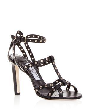 Jimmy Choo Women's Beverly 100 Leather High-Heel Sandals