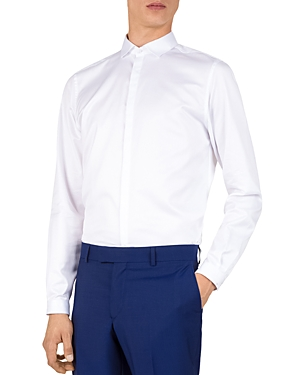 The Kooples Cutaway-Collar Classic Fit Sport Shirt