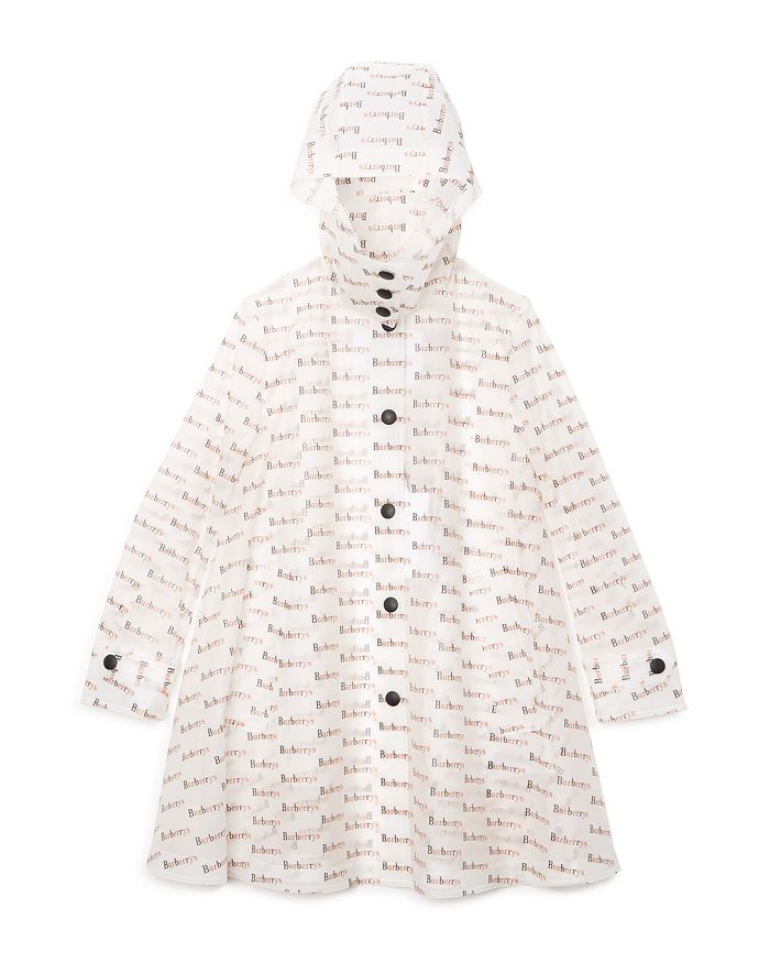 Burberry - Girls' Penelope Rain Coat - Little Kid, Big Kid