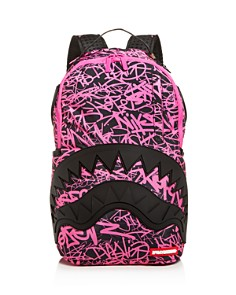 Sprayground - Scribble Rubber Shark Mouth Backpack