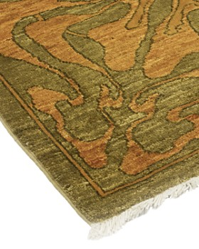 """Solo Rugs - Vibrance 1 Hand-Knotted Area Rug, 6' 1"""" x 8' 10"""""""