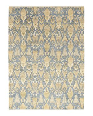 Solo Rugs Ikat 8 Hand-Knotted Area Rug, 9' 1 x 12' 4