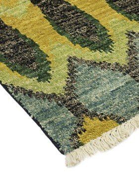 """Solo Rugs - Ikat 10 Hand-Knotted Area Rug, 6' x 9' 1"""""""