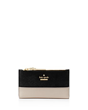 kate spade new york cameron street mikey leather wallet - Kate Spade Business Card Holder