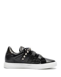 Zadig & Voltaire - Women's ZV1747 Metal Buckled Leather Sneakers