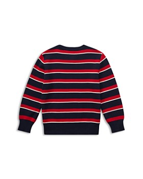 Ralph Lauren - Boys' Pima Cotton Striped Sweater - Big Kid