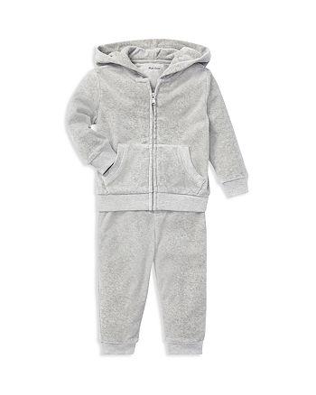 ab4bfd3d2941 Ralph Lauren Boys  Velour Hoodie   Pants Set - Baby
