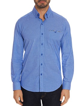 014b43ef Robert Graham - Carrison Dot-Print Tailored Fit Shirt - 100% Exclusive ...