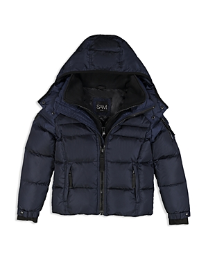 Sam. Boys' Racer Puffer Jacket - Little Kid