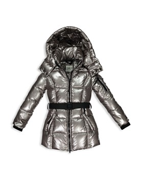 28a788c71f5 Girls' Soho Belted Puffer Jacket - Big ...